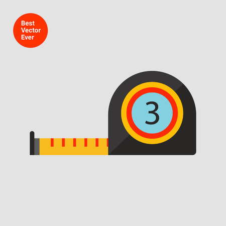 metro medir: Icono Cinta métrica