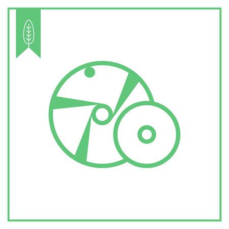 metalworking: Grinding wheel icon
