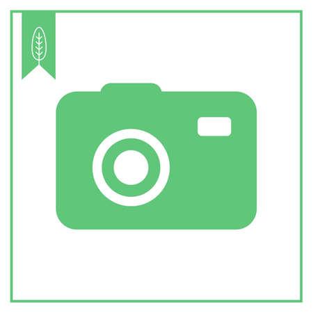 photocamera: Photocamera icon Illustration