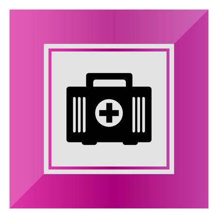 botiquin primeros auxilios: Icono Botiqu�n de primeros auxilios