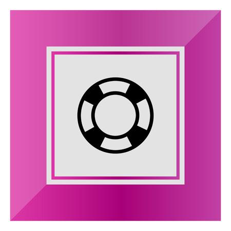aiding: Lifebuoy icon