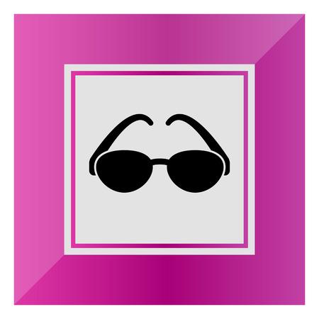 sun glasses: Sun glasses icon