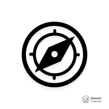 compass: Compass icon