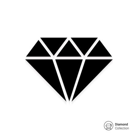 Diamond icon 向量圖像