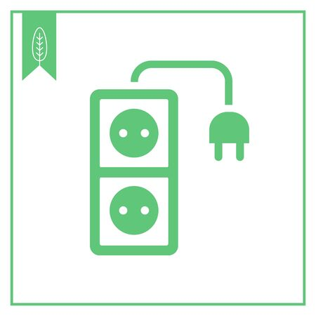 ampere: Extension cord icon
