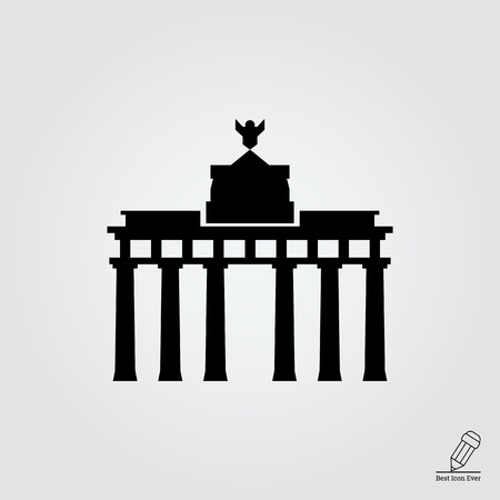 chariot: Brandenburg gate icon
