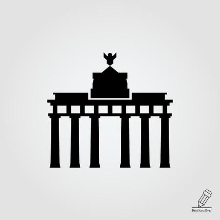 Brandenburger Tor icoon