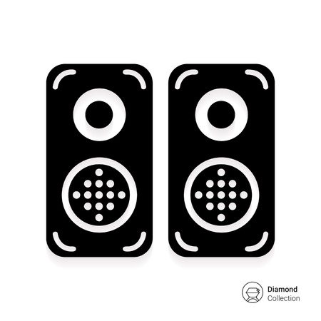 PARLANTE: Acústica icono de altavoces