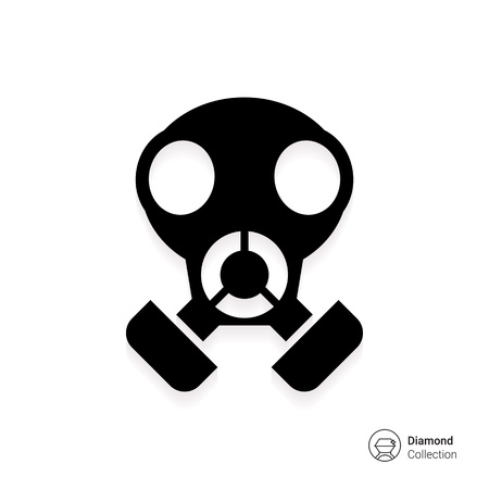 air filter: Gas mask icon