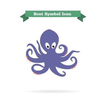 invertebrate: Octopus icon