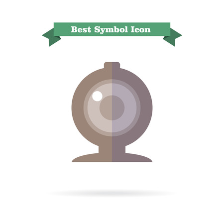 background skype: Web camera icon