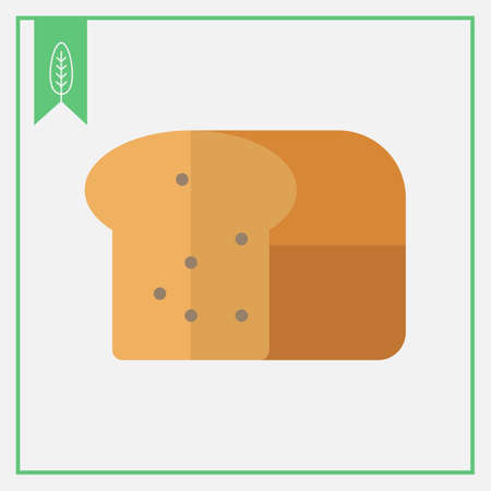 rational: Icon of cut loaf of bread