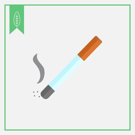 smell of burning: Cigarette icon