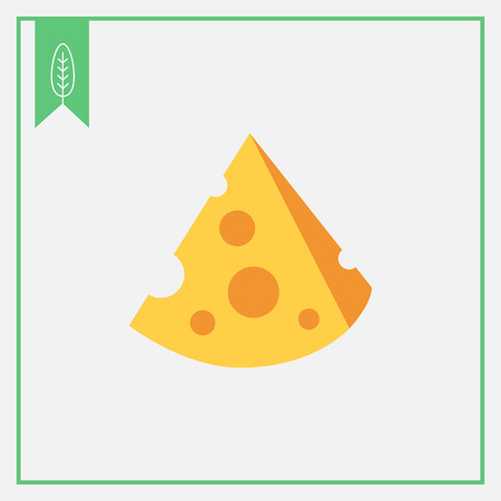 piece: Icon of cut cheese piece
