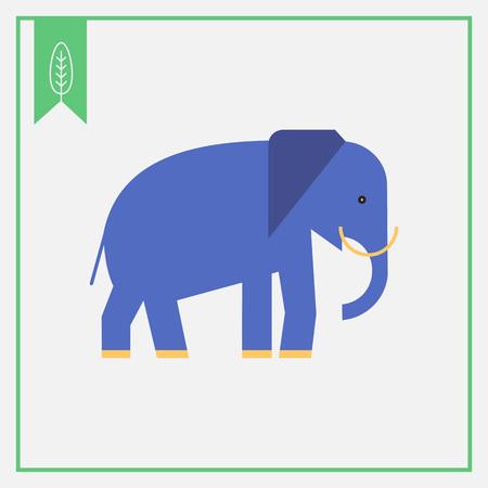 elephant icon: Elephant icon Illustration