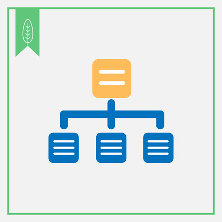 organizational chart: Organizational chart icon