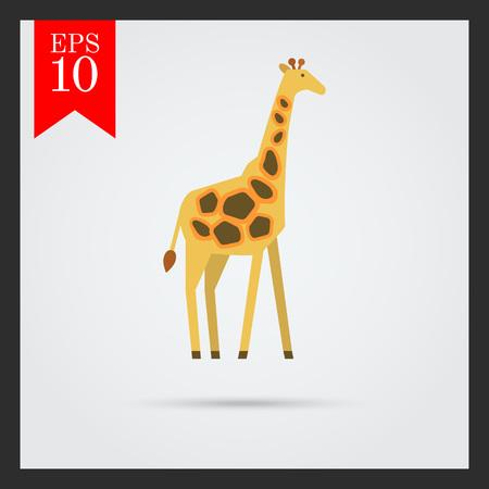 national parks: Giraffe icon