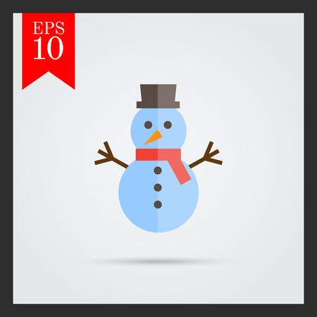 bonhomme de neige: Snowman ic�ne