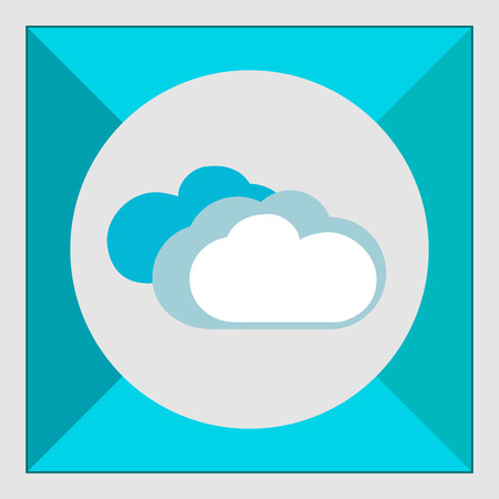 predicting: Icon of clouds