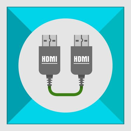 hdmi cable: Icon of HDMI to HDMI cable