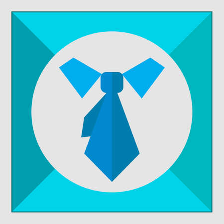 dress code: Icon of necktie and shirt collar