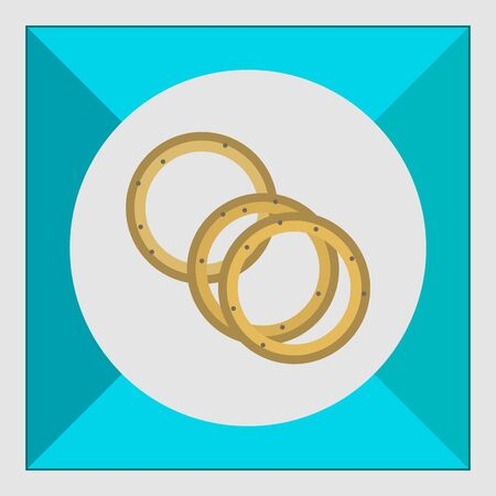 onion rings: Onion rings icon