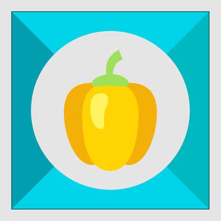 pimenton: Paprika icono