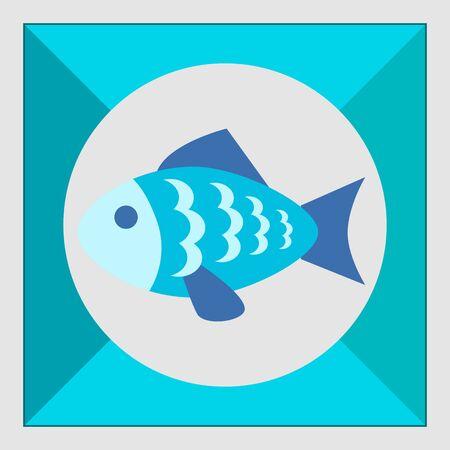 roasting: Icon of fish