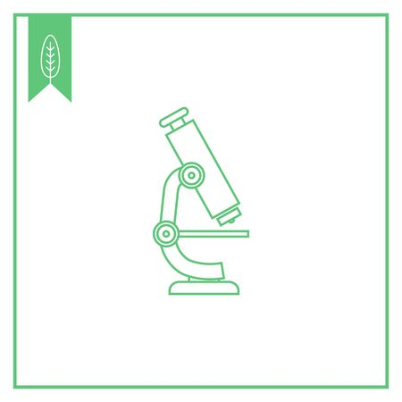 microscope lens: Microscope icon