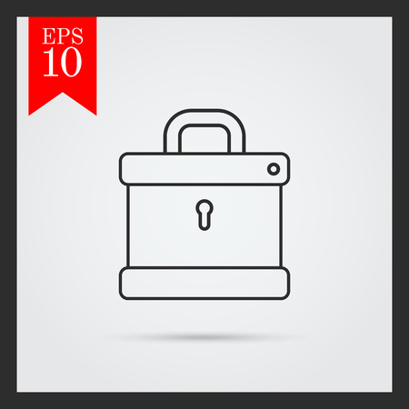 icono candado: Padlock icon
