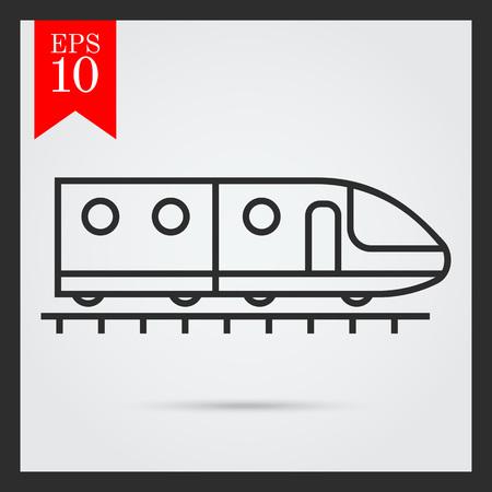 subway train: Subway train icon