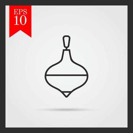 whirligig: Whirligig icon Illustration