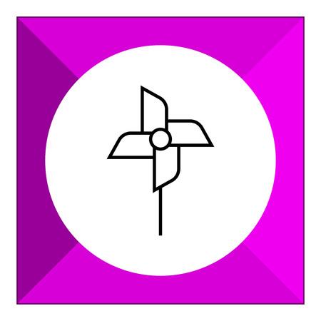 pinwheel toy: Pinwheel icon