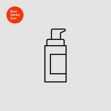 nourishment: Cosmetic bottle with dispenser