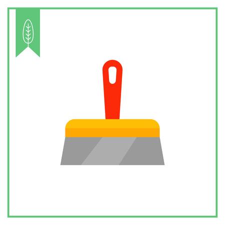 reconstructing: Plastering trowel icon