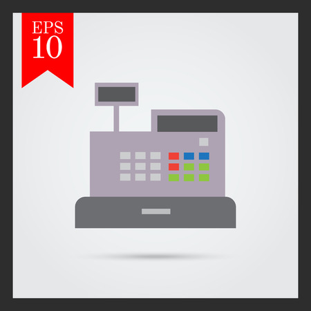 retail display: Cash register icon