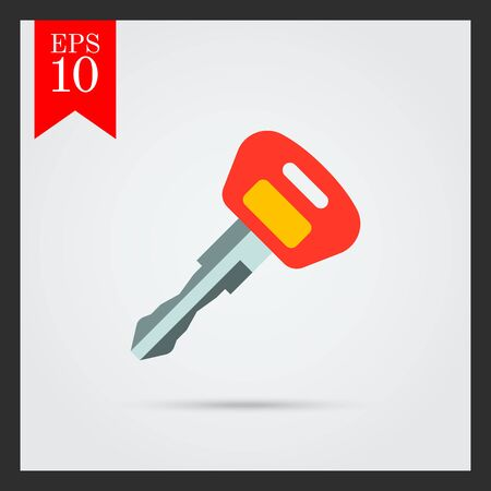 ateşleme: Ignition key icon Çizim