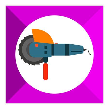 molinillo: Icono Amoladora de ángulo