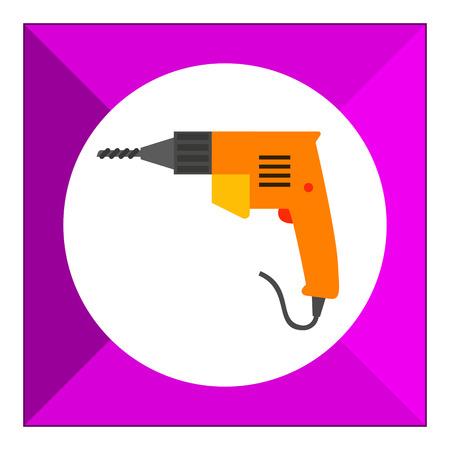 taladro electrico: Electric drill icon