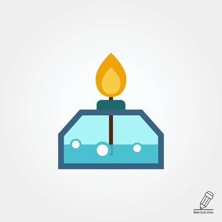 burners: Alcohol lamp icon
