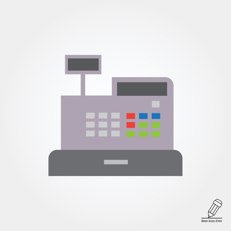 cash register: Cash register icon
