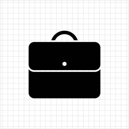 Icon of businessman's briefcase Illustration