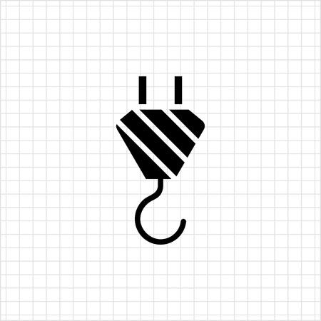 hook up: Crane hook icon