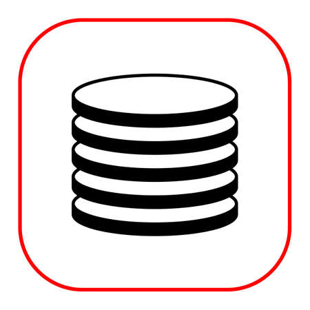 coin stack: Coin stack icon