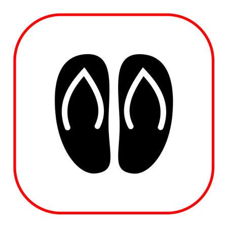 flipflops: Flip-flops icon