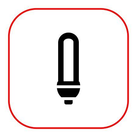 luminous: Icon of luminous lamp