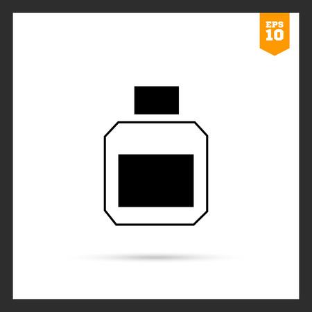 moisturizer: Icon of cosmetics bottle