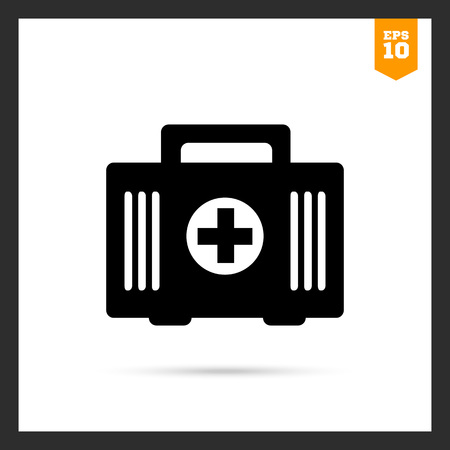 botiquin primeros auxilios: First aid kit icon