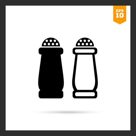 salz: Icon of salt and pepper shakers