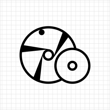 mend: Grinding wheel icon